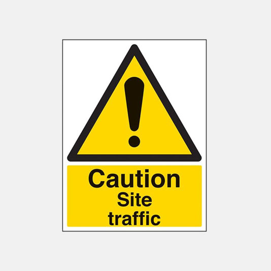 sign site traffic
